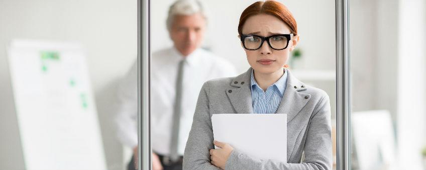 Dejected Employee